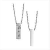Bar Pendant (Urn) - Simply Remembered Collection