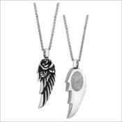Angel Wing Pendant (Urn) - Simply Remembered Collection