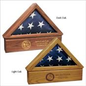 Flag Case Urn