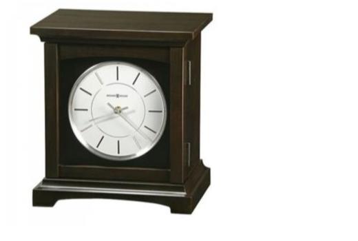 $Chocolate Brown Clock