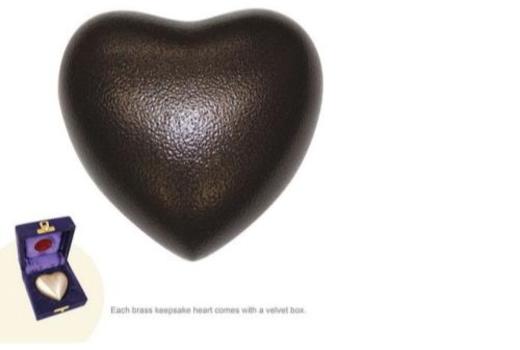 $Vintage Copper Heart