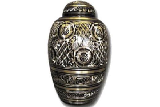 $Black Engraved Brass