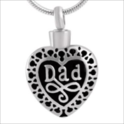 Filigree Dad Heart