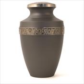 Grecian Rustic Pewter Urn