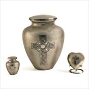 Celtic Cross Urns