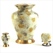 Glenwood White Marble Urns