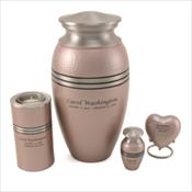 Legacy Pink Engraved Urns