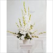 Gladiolus Pedestal Arrangement