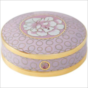 Melrose Pink Cloisonne Miniature Keepsake Urn