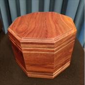 Roosevelt Wood Urn ($240)