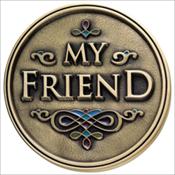 Friend Medallion