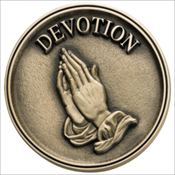 Praying Hands Medallion