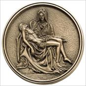 Pieta Medallion