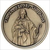 Lord is My Shepherd Medallion