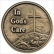 In God's Care Medallion