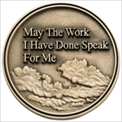 May the Work Medallion