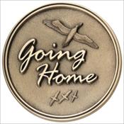 Going Home Medallion