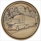 Truck Driver Medallion