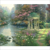 Thomas Kinkade - Gazebo (615)