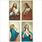 Jesus and Mary Assortment (502M)