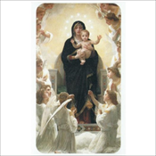Mary and Jesus with Angels (31104)