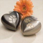 Keepsake Paw Print Heart