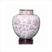 Cameo Rose Cloisonne