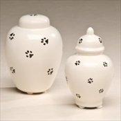 Ceramic Paw Prints