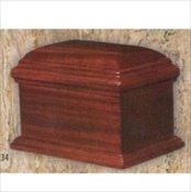 Vintage Mahogany Chest Urn