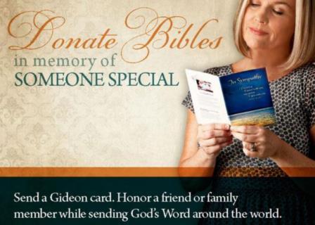 Donate Bibles