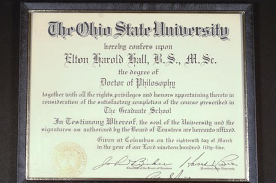 Elton H  Hall Obituary - Visitation & Funeral Information